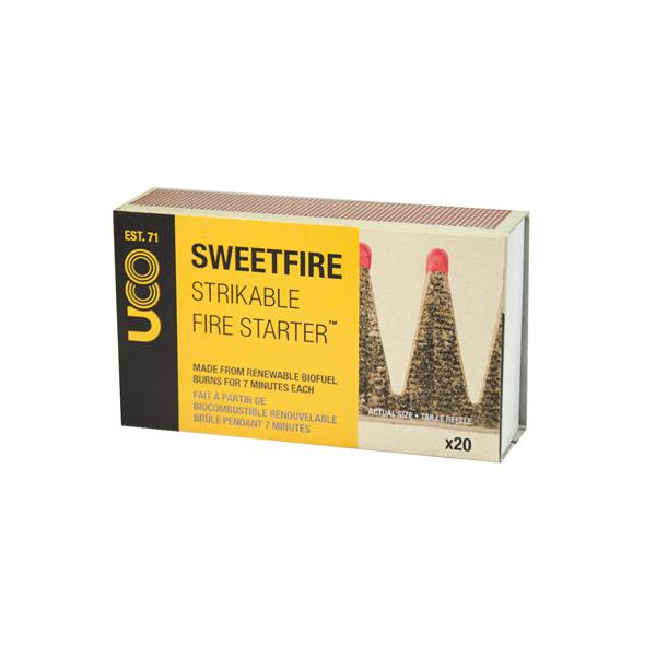 SWEETFIRE TINDER MATCH POINTS Fire Starter
