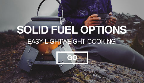 Solid Fuel Cooking Camping Options