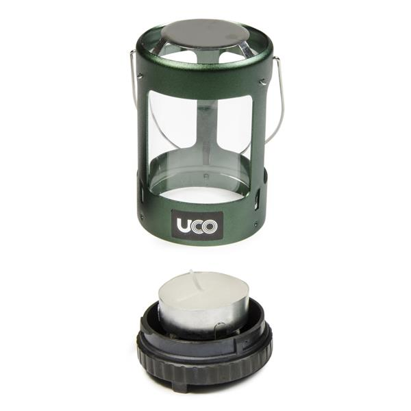 Mini Candle Stove: Mini Candle Lantern - Anodized